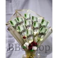 buket uang mainan 10lbr besar baket bunga hadiah wisuda ulang tahun