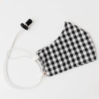 Headloop Cloth New Black Gingham
