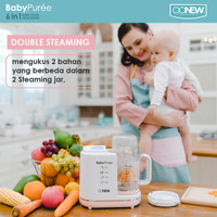 BabyPurée by OONEW (TB-1510S) Michelin Series (Pink Salmon)