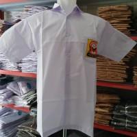 Baju Seragam SMP / Baju SMP Seragam Kemeja SMP Lengan Pendek