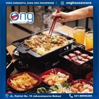 Korean Yakiniku Barbeque Multi Grill Pan Wajan Panggangan Daging