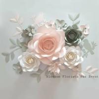 Paper Flower Backdrop (Serba 90rb)