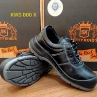 Sepatu Safety Shoes KING / KINGS / KING'S KWS 800 X Hitam Original