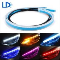Lampu LED DRL Alis 60 CM Mobil Motor 60CM Sein Daytime Running Light