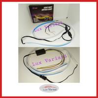 Lampu Led DRL Neon Lampu Alis 60cm Mobil / Motor TopGard