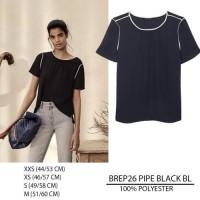 Baju Branded Wanita - BANANA REPUBLIC 26 PIPE BLACK BL