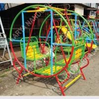 bermain anak. mainan TK/PAUD ayunan bulat bangku 65cm