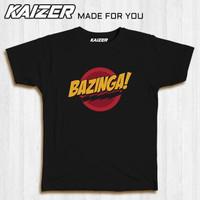 KAIZER ST-0024 Kaos Big Bang Theory Bazinga - TV Series