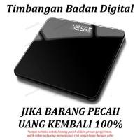 Timbangan Badan Digital 180KG Black White Digital Bathroom Scale