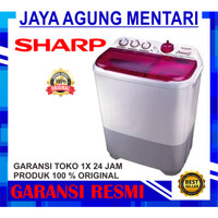 Sharp Mesin Cuci 9 kg EST 95 CR MESIN CUCI 2 TABUNG KHUSUS BEKASI