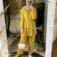z3 - set setelan baju muslim celana panjang cewek wanita model terbaru