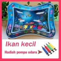 Inflatable Baby Water Mat Mainan Edukasi Matras Isi Air untuk Bayi - Ikan kecil