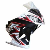 Fairing Ninja 250 Fi NEMO Tanpa Lampu Depan