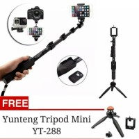 Promo Tongsis Bluetooth Yunteng YT-1288 + Tripod YT-288