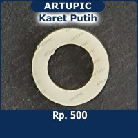 Karet Putih shil seal sheal untuk nipple Artupic