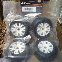ban roda mobil rc remote control hex 17mm 1/8