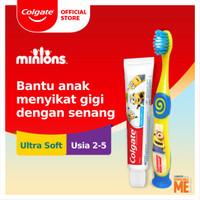 Colgate Kids Pasta Gigi Anak Minions 40gr + Sikat Gigi 2-5 Tahun
