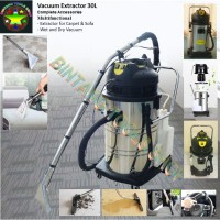 Vacuum Spray Extraction LC-30SC Extractor 30Liter Carpet Cleaner