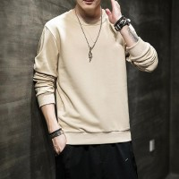 Baju Kaos Polos Lengan Panjang Cowok Atasan Pria Fashion Kekinian