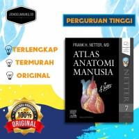 ATLAS ANATOMI MANUSIA(BAHASA LATIN/INDONESIA)ED.7 / ELSEVIER / NETTER