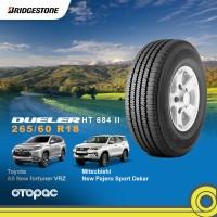 265/60 R18 Ban Toyota All New Fortuner - Bridgestone Dueler H/T 684 II