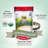 Pure Green Beras Organik 1kg - Pulen Wangi