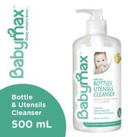 Babymax Premium Natural Baby Safe Bottle & Utensils Cleanser 500ml