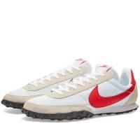 Sepatu Nike Waffle Racer Night White Red Original