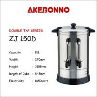 Akebonno Coffee Maker / Water Boiler 15 Liter 2 Kran ZJ150D