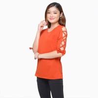 Kaos lengan panjang wanita gaya korea model variasi - Jfashion Azkia