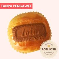 Roti Lotus Biscoff - Selai Belgia - Roti Josh