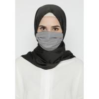 Heaven Sent - Masker Hijab Non Medis Razeta Grey