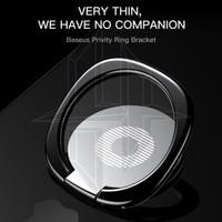 BASEUS Privity Ring Outlet Phone Stand Holder Iring Bracket - Hitam
