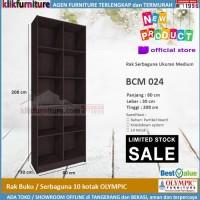 Rak Buku / Lemari Buku / Rak Serbaguna / Rak Display BCM 024