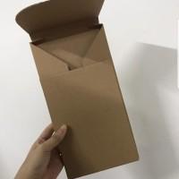 Packaging Baju Kaos Dewasa Lipat Kardus Karton model envelope Packing