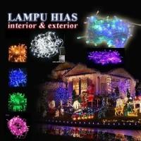 Lampu Natal Hias 5 Meter LED String dekorasi tumbler Twinkle Light