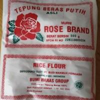 Ready Stock Tepung Beras Rose Brand 1 Dus 500Gr Promo