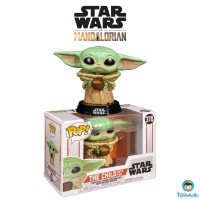 Funko POP! Star Wars The Mandalorian - The Child (Baby Yoda) with Cup