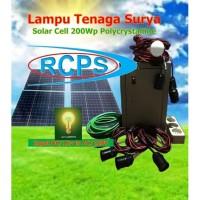 Terlaris ; Pembangkit Listrik Tenaga Surya Out AC 220V 500W