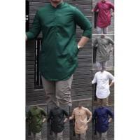 [Salman Koko M NI]Baju koko pria matt toyobo varian warna