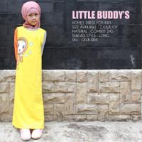 Baju Gamis Busana Muslim Anak Perempuan Combed 24s Alt Afrakids GALB04 - 2T