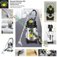 Vacuum Spray Extraction LC-20SC Extractor 20Liter Carpet Cleaner