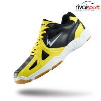 Sepatu Badminton EAGLE SMASHER (Hitam/Kuning)