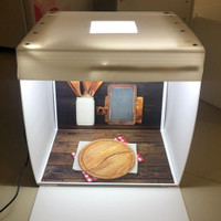 Paket Studio mini dan alasfoto ukuranA3 (31x30cm)motif peralatan dapur