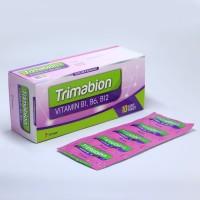 TRIMABION Vitamin B1 B6 B12 - 1 BOX isi 100