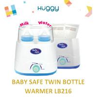 Baby Safe LB216 Twin Bottle Warmer Alat Steril Botol Susu Anak Bayi