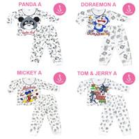 Katalog Baju Setelan Piyama Bayi Lengan Panjang Newborn Shirton GROSIR