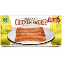 BACON AYAM ASAP METZGER SMOKED CHICKEN RASHER (HALAL) 250
