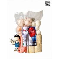 Seafood King Shabu Combo Steamboat- Paket Mix Olahan Seafood 300 g