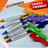 Pulpen / Pen Promosi Cabe Tali plus insert paper